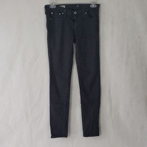 AG ADRIANO GOLDSHMIED the legging ankle skinny 25R